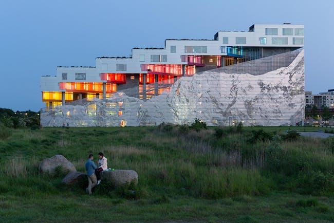 BIG (Bjarke Ingels Group): The Mountain, Copenhagen, Denmark, 2007; Image by Iwan Baan