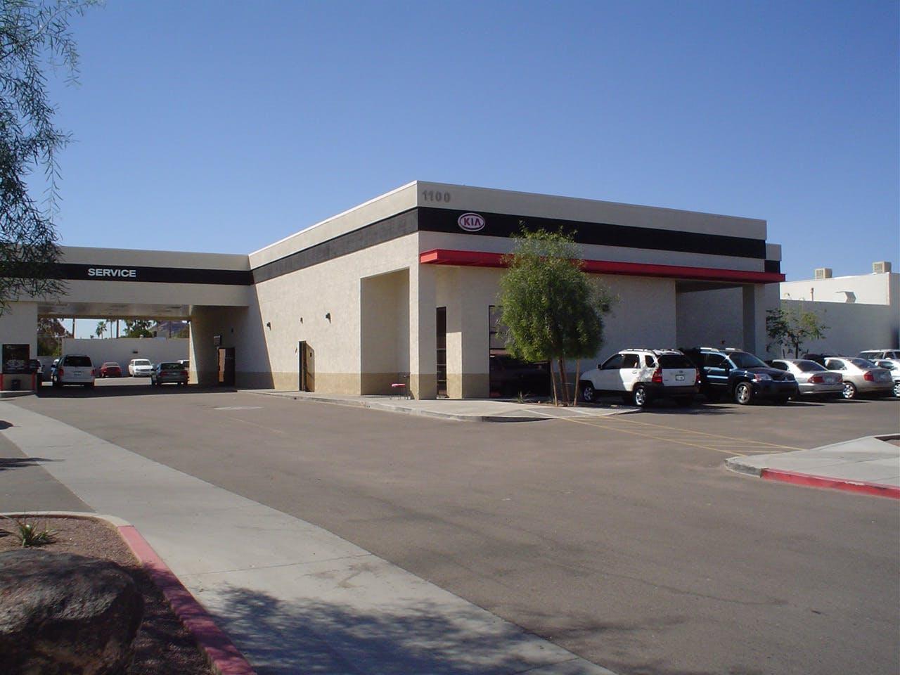 Mark Kia Service Center Scottsdale 2006 Mark Lymer