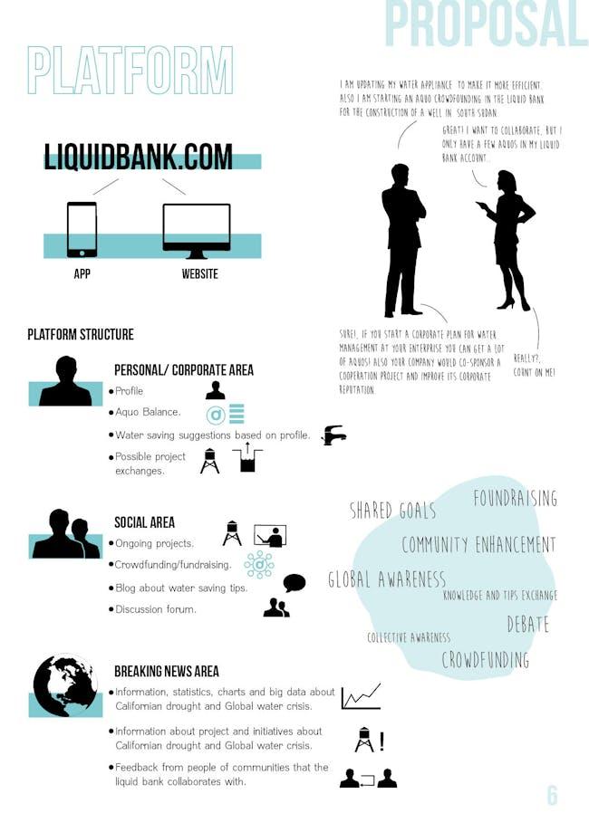 'Liquid Bank' presentation (8/14), courtesy of Juan Saez.