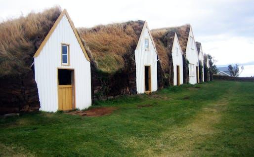 Glaumbaer Turf Houses. Image: Matito via Flickr