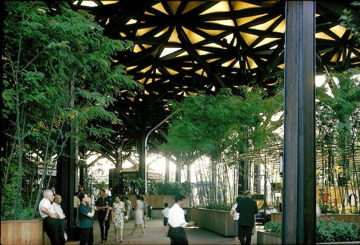 IBM garden. Courtesy of Kevin Roche John Dinkeloo and Associates LLC.
