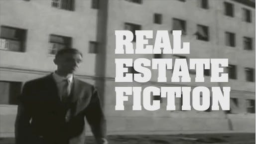 Titular screenshot from 'Real Estate Fiction.'