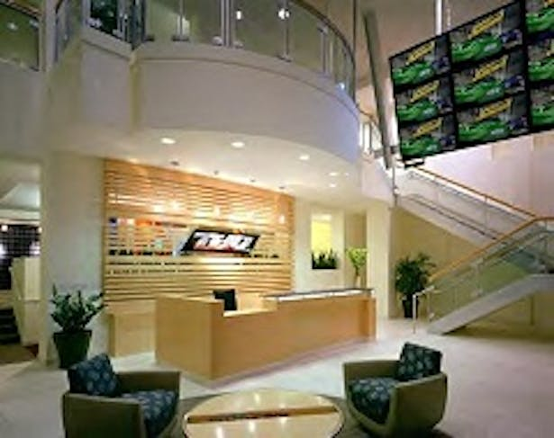 THQ Lobby Desk and Table Design/Drafting