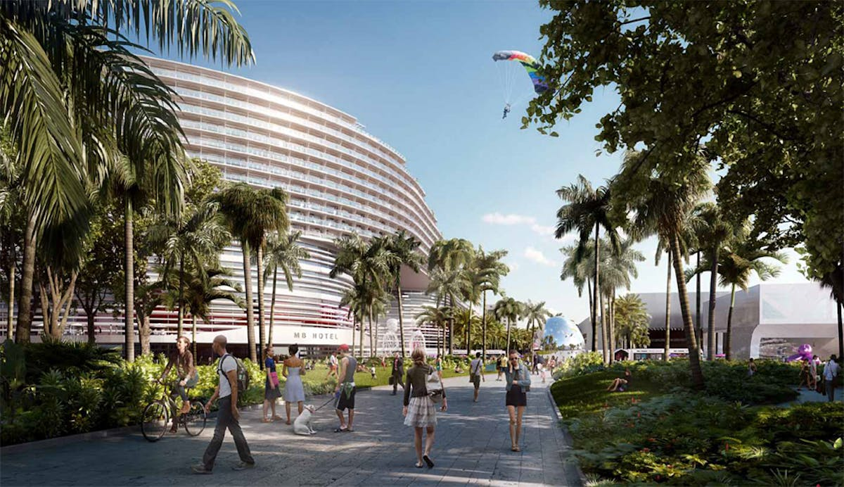 oma wins miami beach convention center competition   news