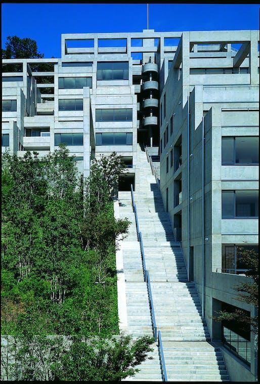 Rokko Housing II, 1993. Photo © Mitsuo Matsouoka.