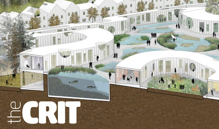 Rendering of WORKac's Nature-City for Keizer, Oregon. Image courtesy WORKac.