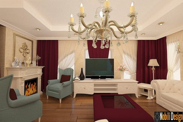 New classic interior design - Italian luxury furniture