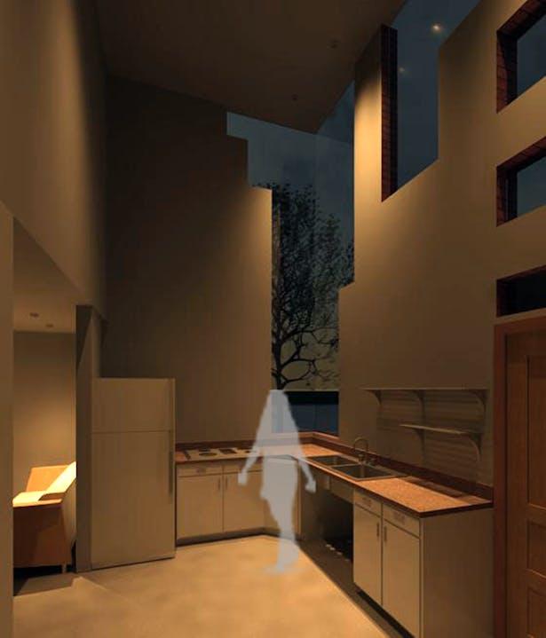 Ground Level Kitchen