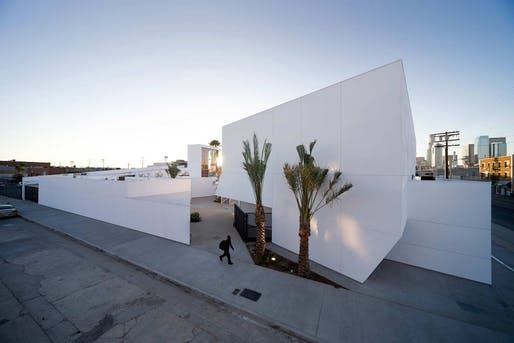 Inner-City Arts in Los Angeles, CA by Michael Maltzan Architecture. Photo: Iwan Baan.