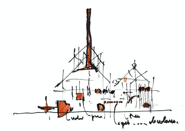 Section Sketch (via RPBW 2015)
