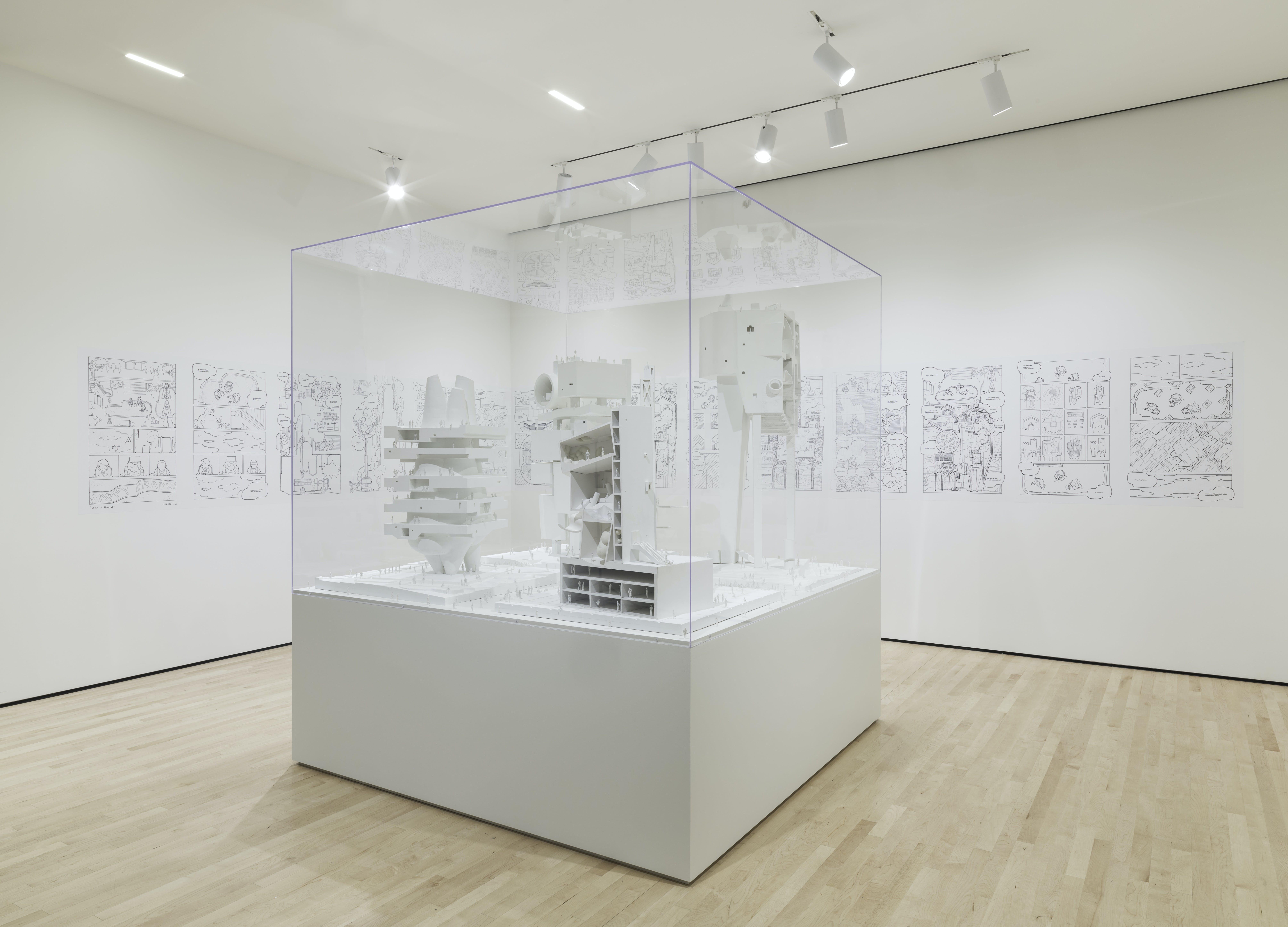 New bureau spectacular exhibition at sfmoma explores the narrative
