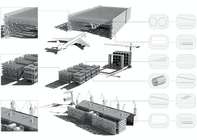 Transport Terminal, First place: Nicosia International Airport | Charoula Lambrou, Newcastle University, United Kingdom