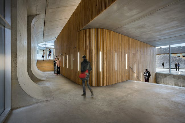 World Architecture Festival 2015 shortlist - Gammel Hellerup High School by BIG.