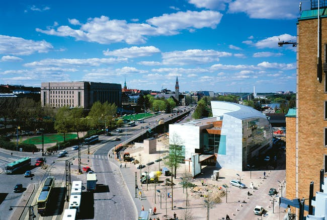 Kiasma Museum of Contemporary Art , Helsinki, Finland. Photo by Paul Warchol