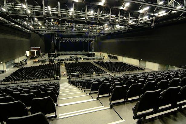 Interior in concert configuration
