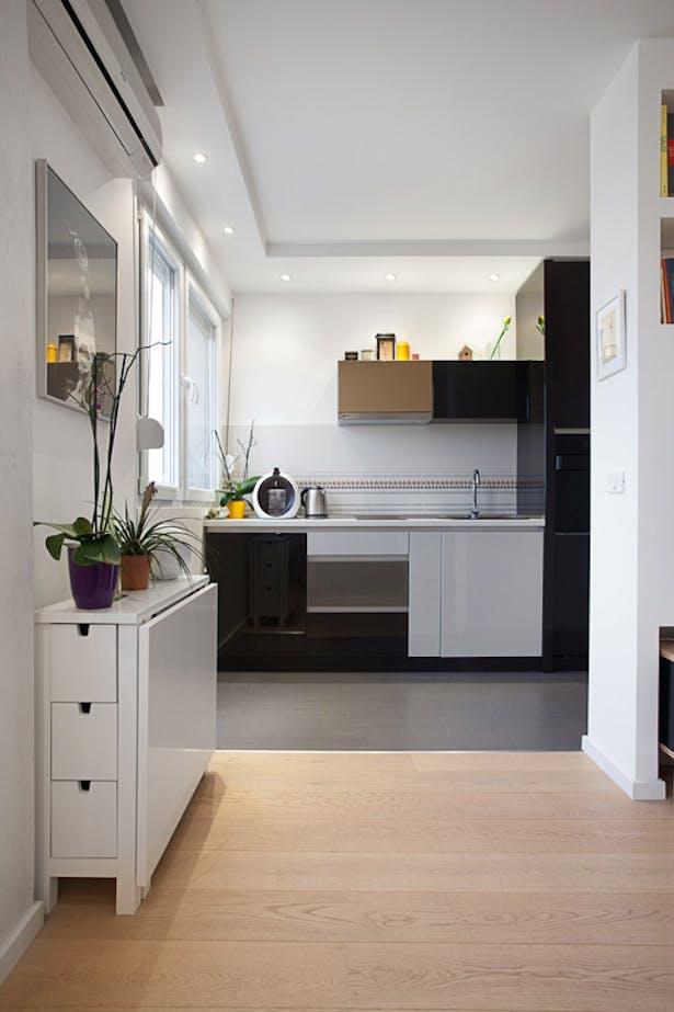 Living Room Interior Design Pdf: Apartment In Belgrade