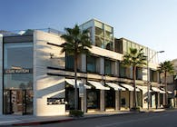 Louis Vuitton Rodeo Drive in Beverly Hills, California