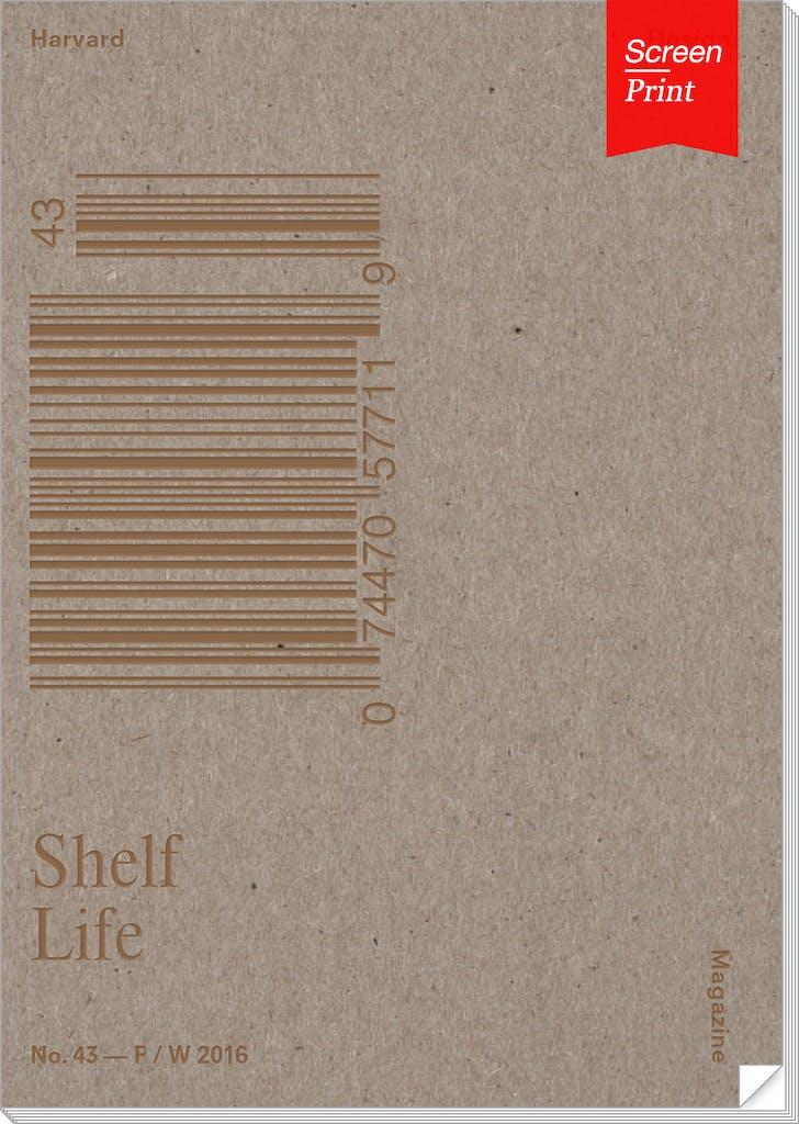 Harvard Design Magazine's issue no. 43, 'Shelf Life.'
