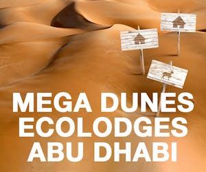 Mega Dunes Ecolodges - Abu Dhabi