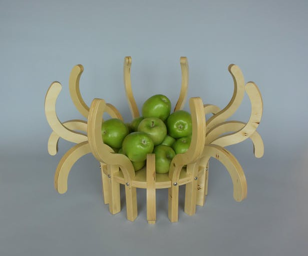 Used here as a fruit bowl.
