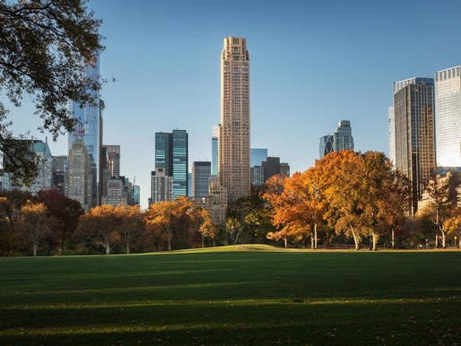 Rendering of the Robert A.M. Stern-designed 220 Central Park South tower. (Image via Vornado Realty Trust's website)
