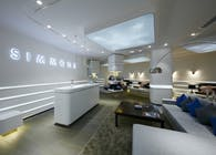 Simmons New generation shop_Premier and Studio: branding, interior, embellishment, uniform and identity.