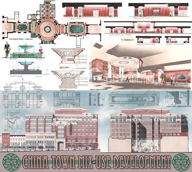 China Town Mix-use project - Washington DC