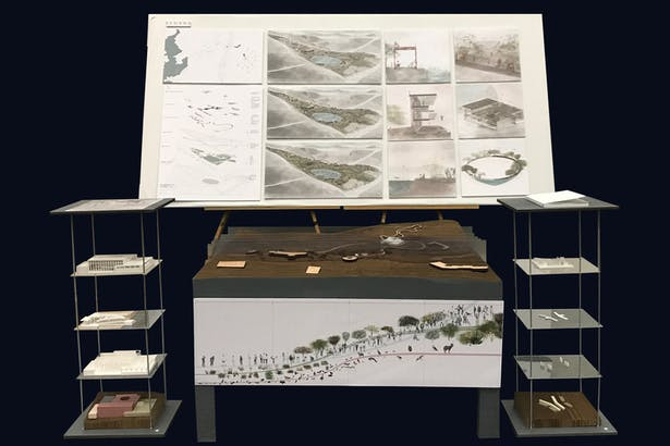 Presentation boards and models