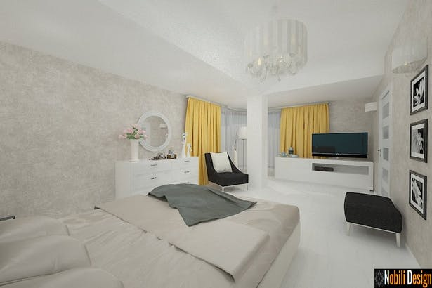 Casa amenajata in stil modern
