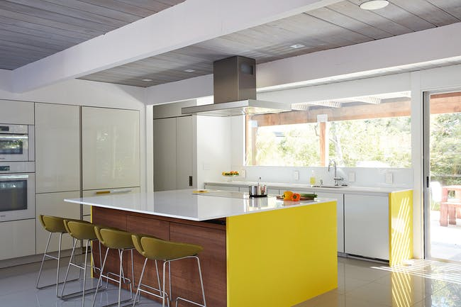 Double Gable Eichler Remodel in Mountain View, CA by Klopf Architecture; Photo: Mariko Reed