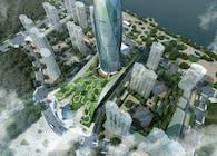 Fushun Green Center 'New City Flower'