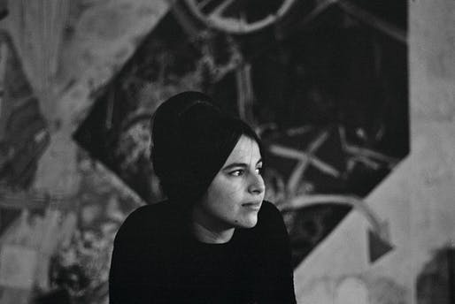Eva Hesse. Photo by Barbara Brown circa 1963