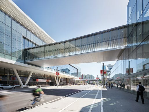 Sculpture/Art Installation/Non-building Structure - National Award: Moscone Center Expansion - Pedestrian Bridges, San Francisco, CA. Structural Engineers: SOM; SOHA Engineers, San Francisco, CA; Tipping Structural Engineers, Berkeley, CA. Architect: Skidmore, Owings, and Merrill LLP (SOM), San...