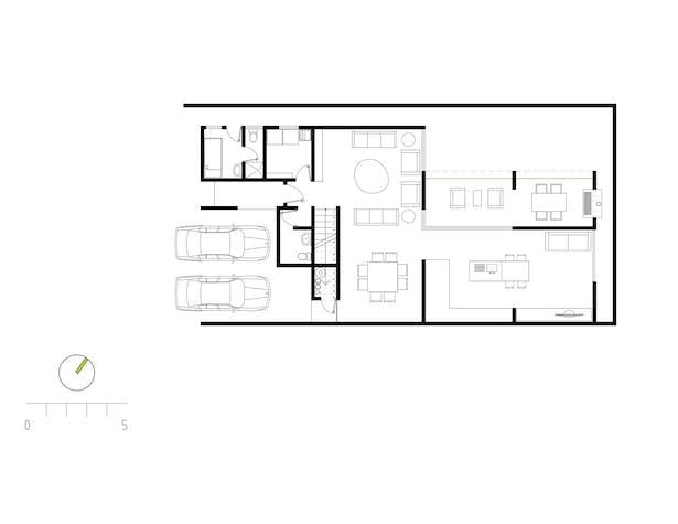Floor plan of house 3