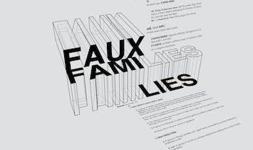 Open Call : MASKS the Journal // FAUX FAMI(lies)