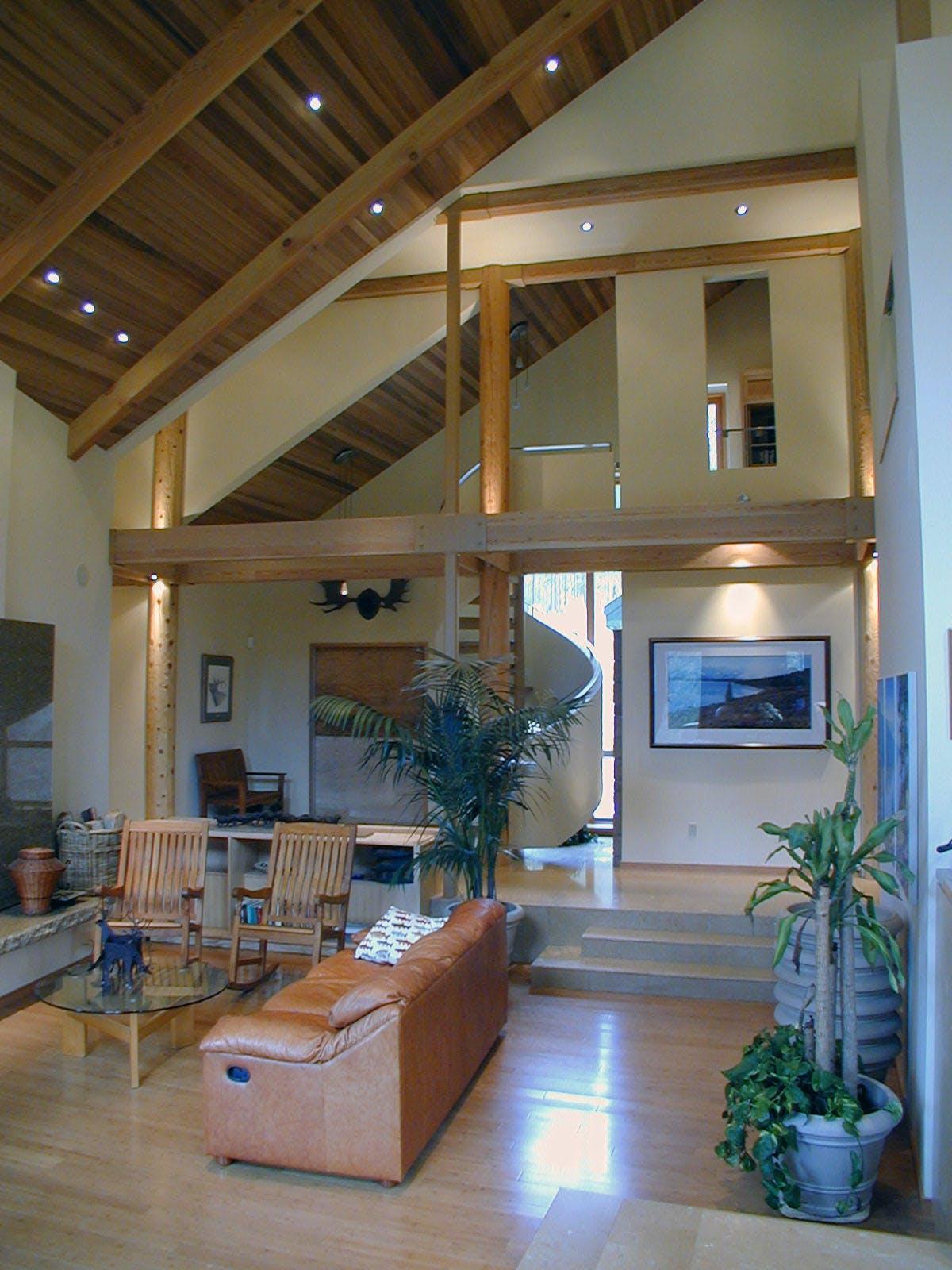 Mountain House Ronald Frink Architects Archinect