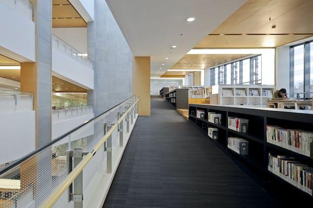 Library ramp