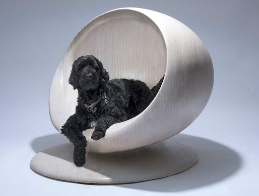 """Cloud"" dog kennel by Zaha Hadid Design. Photo © Zaha Hadid Design."