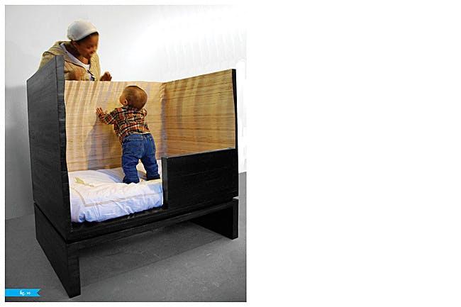 CNC-Milled Baby Crib by Radlab, Inc