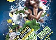Spring Break Poster for Lincoln University