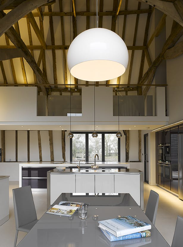 Chantry Farm Barn Kitchen and Dining Space