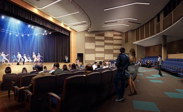 Interior view of Auditorium