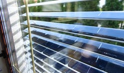 This Kickstarter wants to turn your window blinds into solar power generators