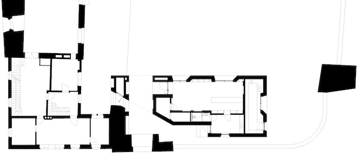 Visitor center layout
