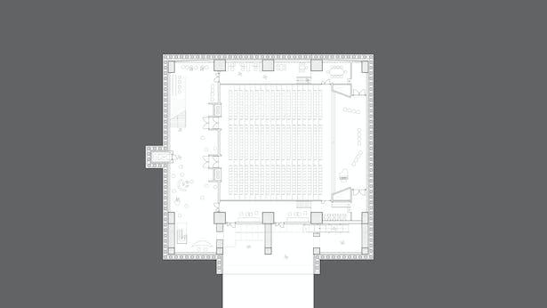 B3 Floor Plan_Auditorium