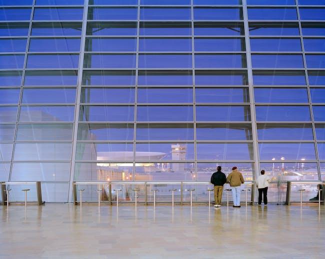 Ben Gurion International Airport. Photo by Alan Karchmer.