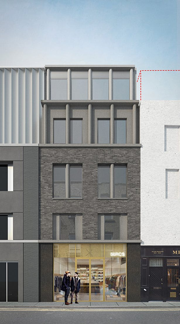 Redchurch Street elevation