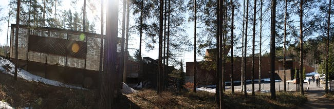 Lusto - Finnish Forest Museum, Punkaharju, 1994