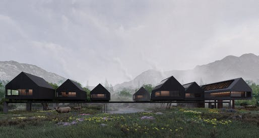 2nd prize: Sailing Seasons Guesthouse. Project author: Nuttapol Techopitch​. Company: Looklen Architects Co.​ | Thailand