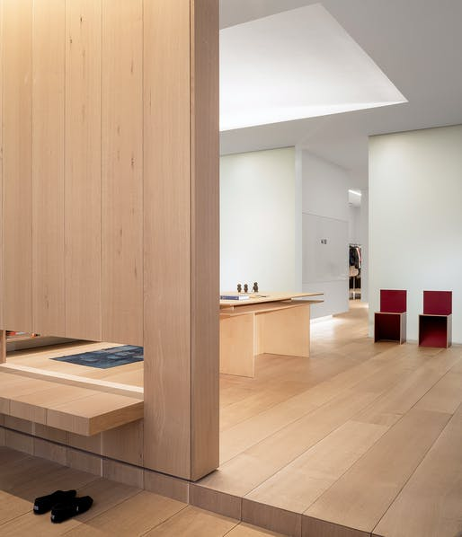 Photographer's Loft; New York City by Desai Chia Architecture. Photo: Paul Warchol Photography.
